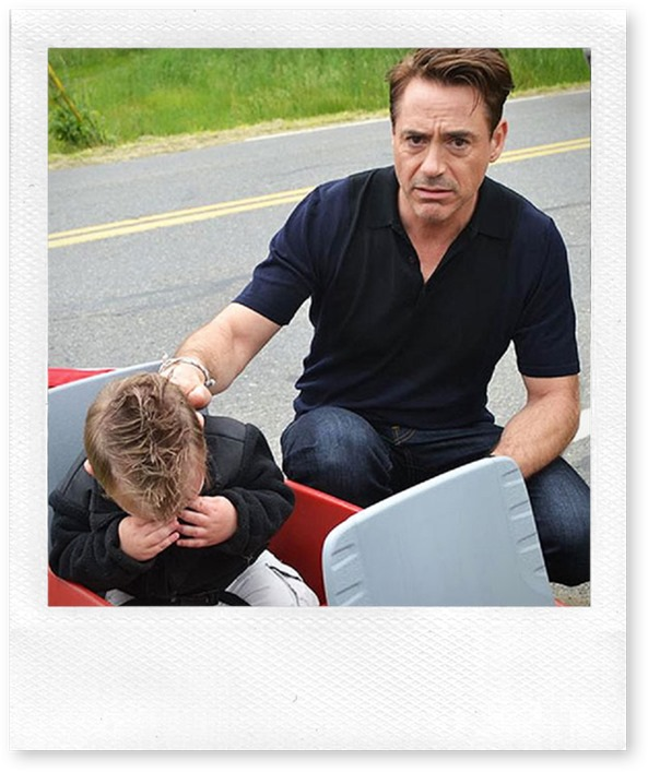 Tony Stark meets his biggest fan